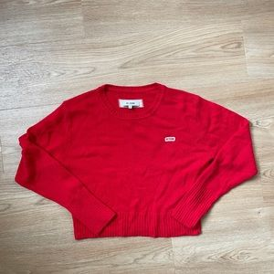 Re/Done Cropped Sweater